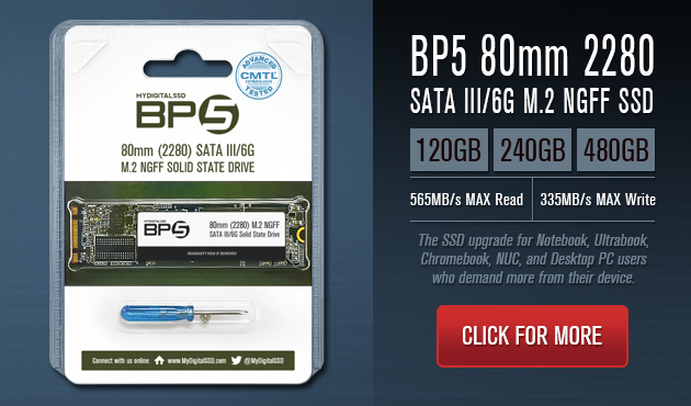 MyDigitalSSD BP5 80mm 2280 M.2 NGFF SSDs