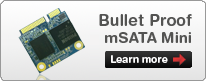 Learn more about the MyDigitalSSD Bullet Proof mSATA Mini SSDs