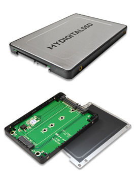 MyDigitalSSD M.2 NGFF to 2.5 Inch SATA Adapter Enclosure